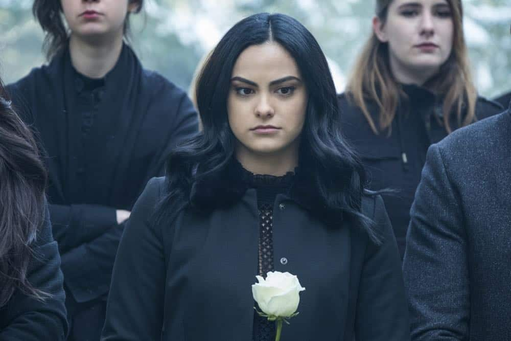 "Riverdale -- ""Chapter Thirty-Two: Prisoners"" -- Image Number: RVD219b_0094.jpg -- Pictured: Camila Mendes as Veronica -- Photo: Katie Yu/The CW -- © 2018 The CW Network, LLC. All Rights Reserved."
