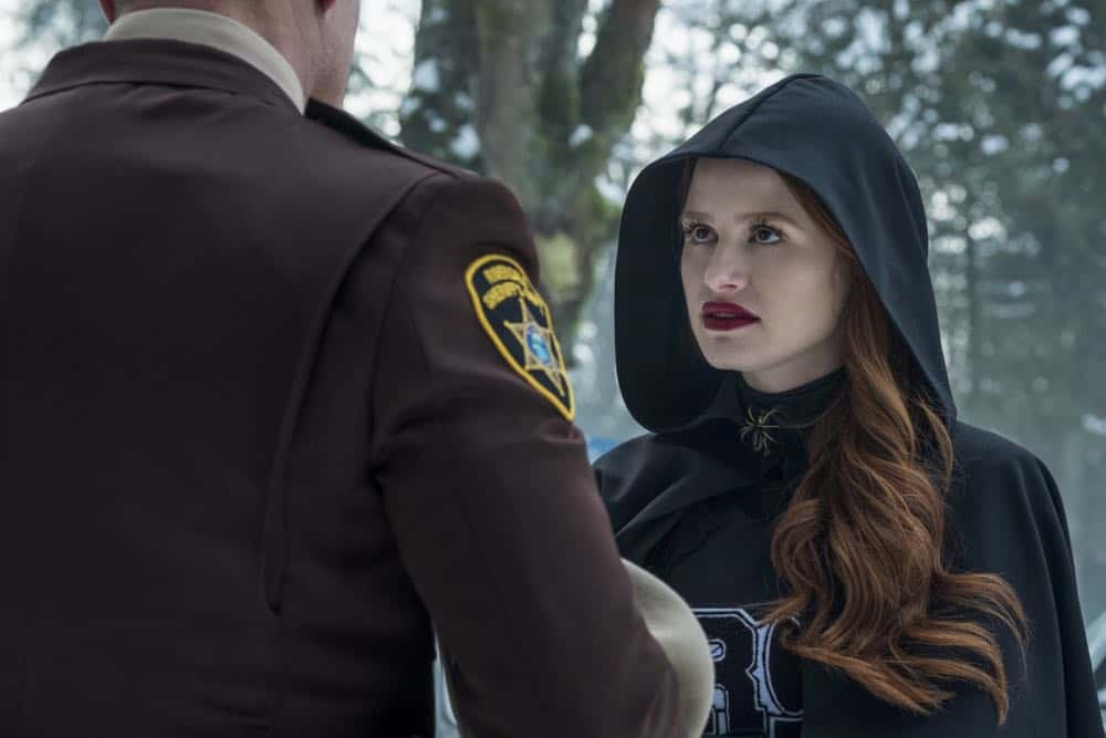 "Riverdale -- ""Chapter Thirty-Two: Prisoners"" -- Image Number: RVD219b_0239.jpg -- Pictured: Madelaine Petsch as Cheryl -- Photo: Katie Yu/The CW -- © 2018 The CW Network, LLC. All Rights Reserved."