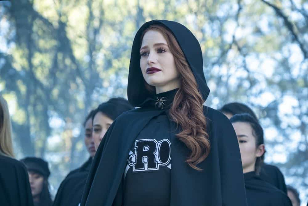 "Riverdale -- ""Chapter Thirty-Two: Prisoners"" -- Image Number: RVD219b_0032.jpg -- Pictured: Madelaine Petsch as Cheryl -- Photo: Katie Yu/The CW -- © 2018 The CW Network, LLC. All Rights Reserved."
