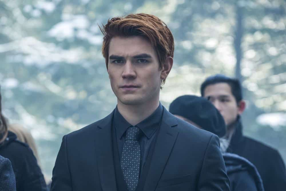 "Riverdale -- ""Chapter Thirty-Two: Prisoners"" -- Image Number: RVD219b_0085.jpg -- Pictured: KJ Apa as Archie -- Photo: Katie Yu/The CW -- © 2018 The CW Network, LLC. All Rights Reserved."