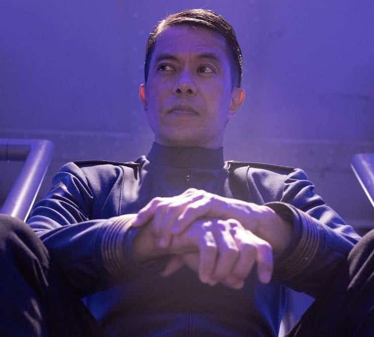 """THE EXPANSE -- """"Assured Destruction"""" Episode 303 -- Pictured: Byron Mann as Admiral Nguyen -- (Photo by: Rafy/Syfy)"""