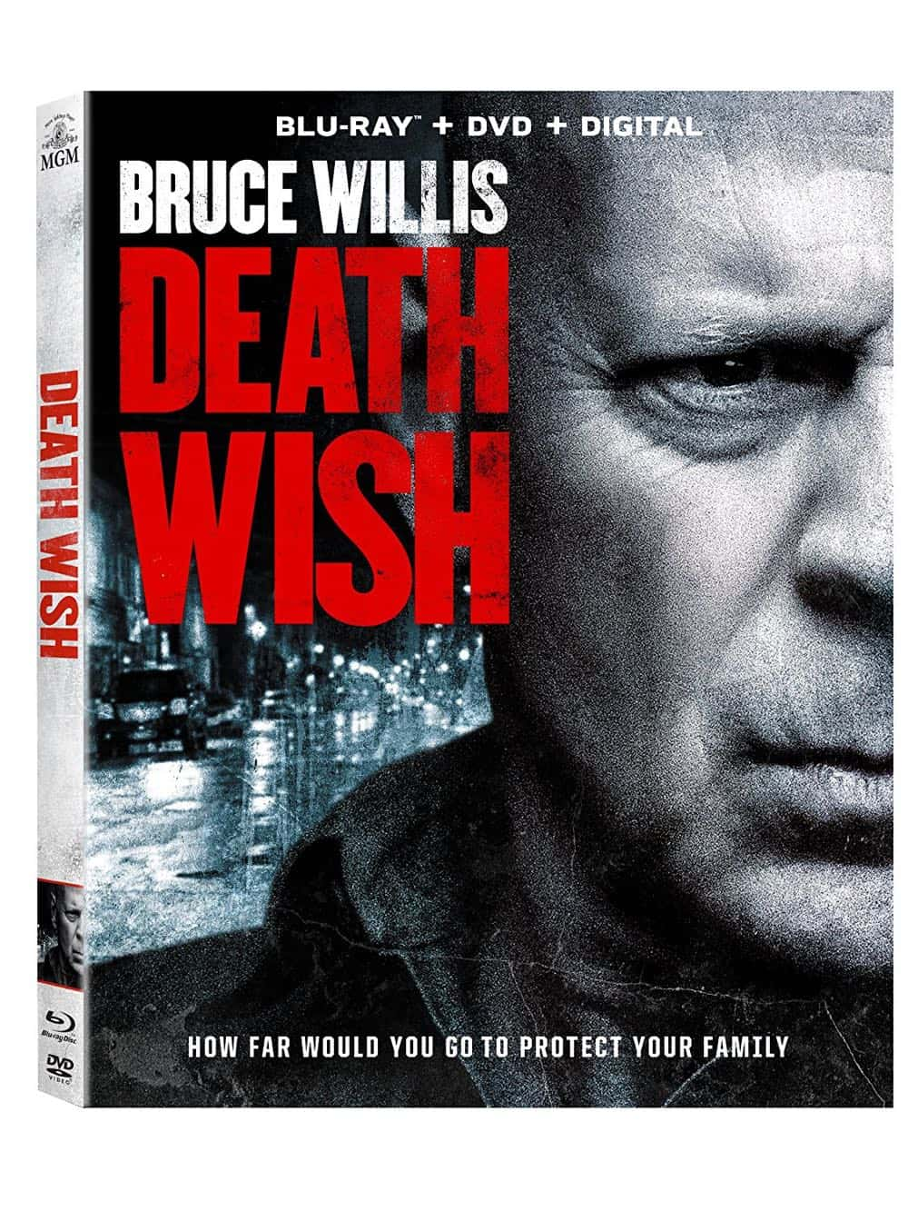 Death Wish Blu-ray + DVD + Digital Bruce Willis 2018