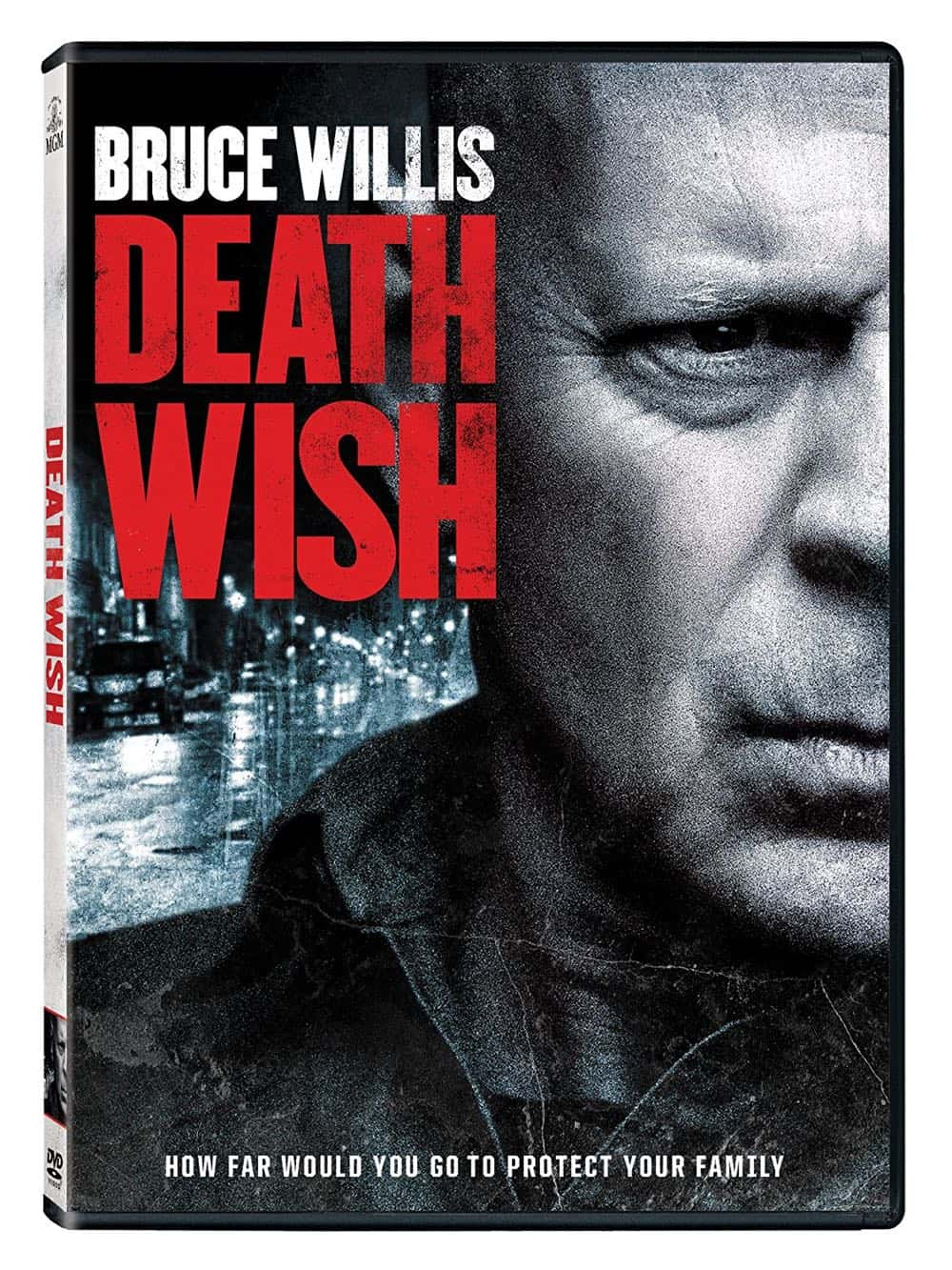 Death Wish DVD Bruce Willis 2018