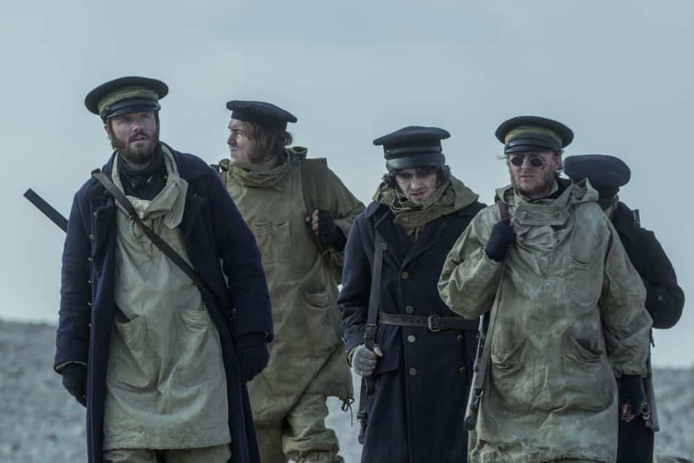 Ronan Raftery as Lt. John Irving - The Terror _ Season 1, Episode 7 - Photo Credit: Aidan Monaghan/AMC