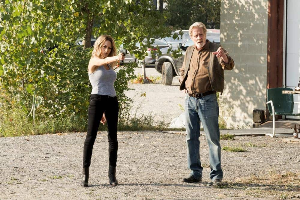"IMPOSTERS -- ""Andiamo"" Episode 204 -- Pictured: Inbar Lavi as Maddie -- (Photo by: Christos Kalohoridis/Bravo)"