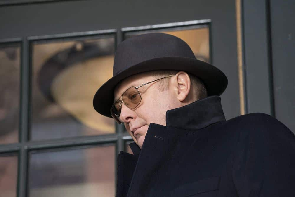 "THE BLACKLIST -- ""Nicholas T. Moore (#110)"" Episode 520 -- Pictured: James Spader as Raymond ""Red"" Reddington -- (Photo by: Virginia Sherwood/NBC)"