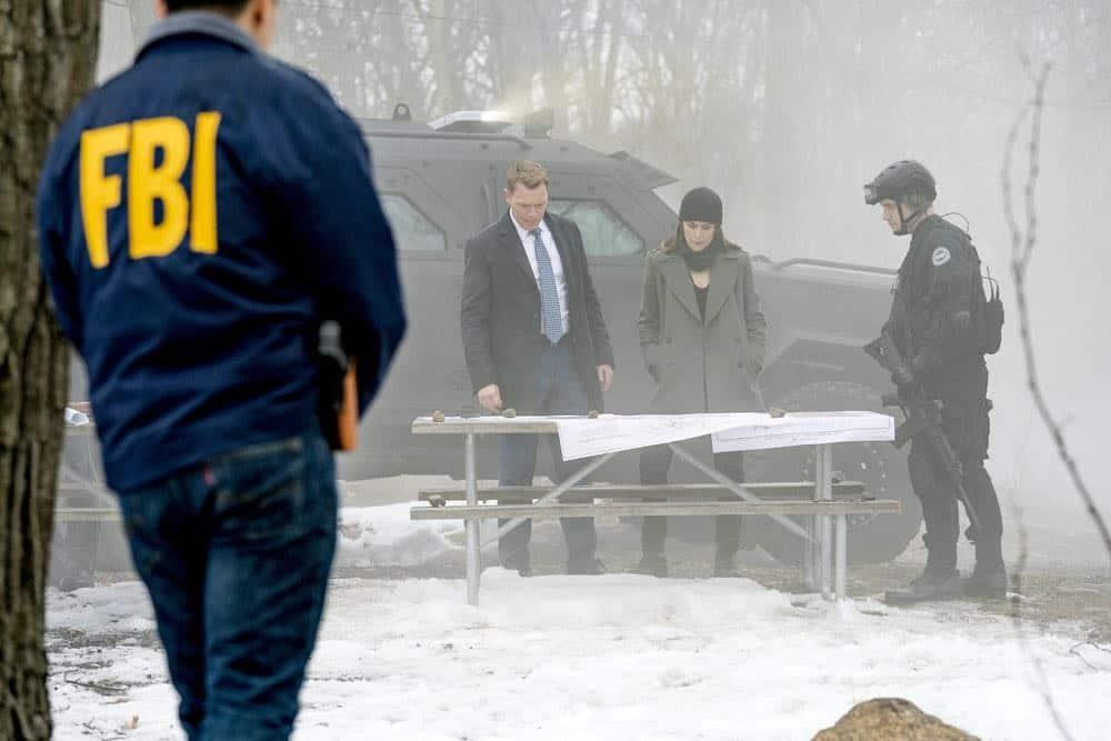 """THE BLACKLIST -- """"Nicholas T. Moore (#110)"""" Episode 520 -- Pictured: (l-r) Diego Klattenhoff as Donald Ressler, Megan Boone as Elizabeth Keen -- (Photo by: Scott Gries/NBC)"""