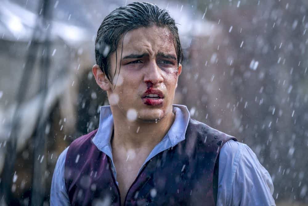 Aramis Knight as M.K. - Into the Badlands _ Season 3, Episode 2 - Photo Credit: Aidan Monaghan/AMC