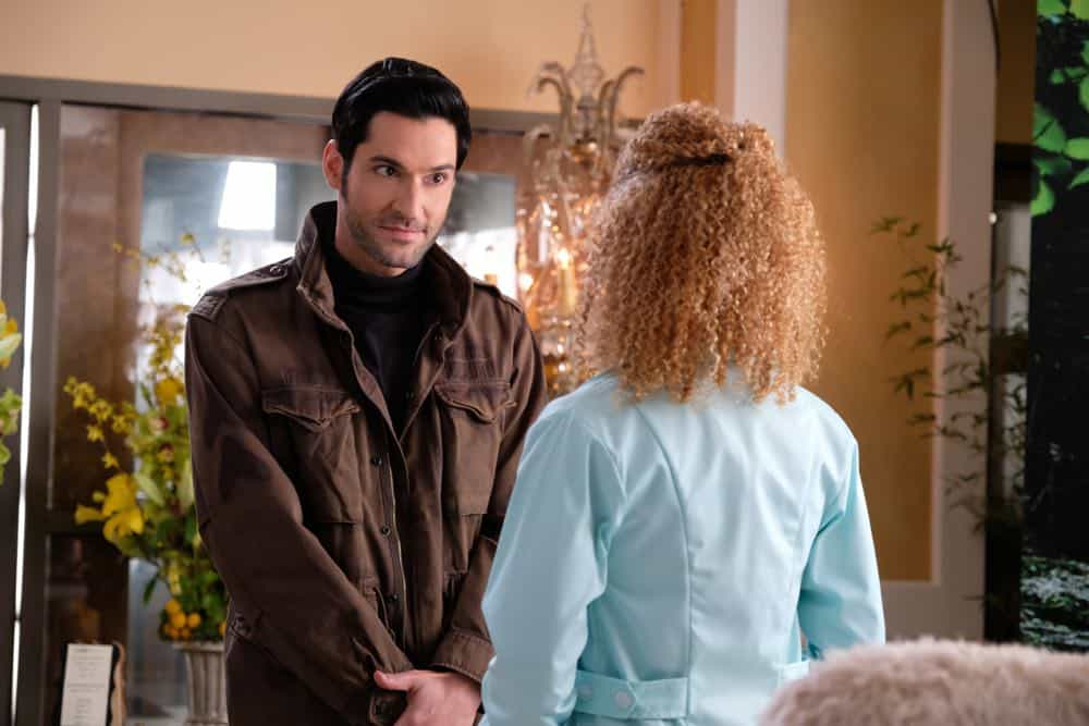 "LUCIFER: Tom Ellis in the ""All Hands on Decker"" episode of LUCIFER airing Monday, April 30 (8:00-9:00 PM ET/PT) on FOX. CR: FOX"