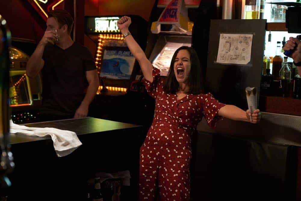 "BROOKLYN NINE-NINE: Melissa Fumero in the ""Bachelor/ette Party"" episode of BROOKLYN NINE-NINE airing Sunday, April 29 (8:30-9:00 PM ET/PT) on FOX. CR: FOX"