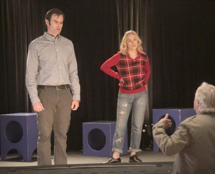 Episode 6 (debut 4/29/18): Bill Hader, Sarah Goldberg, Henry Winkler. photo: Jordin Althaus/HBO