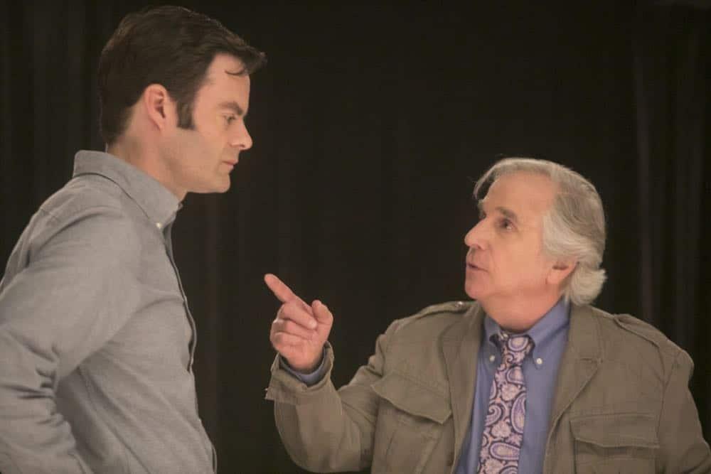Episode 6 (debut 4/29/18): Bill Hader, Henry Winkler. photo: Jordin Althaus/HBO
