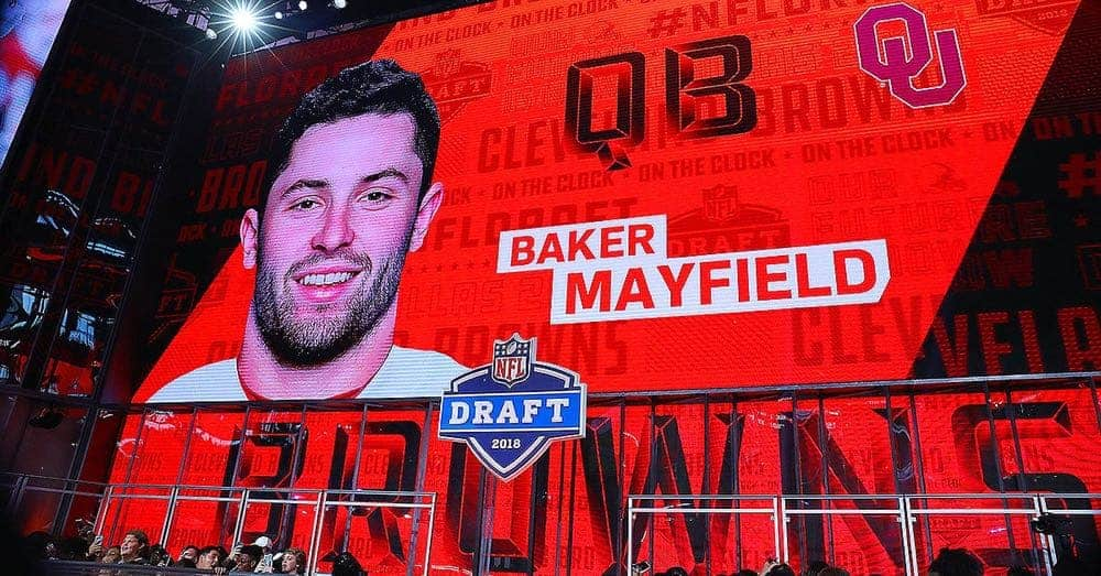 nfl draft 2018 browns baker mayfield