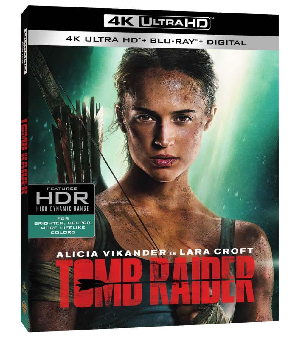Tomb Raider 4K + Blu-ray + Digital Cover