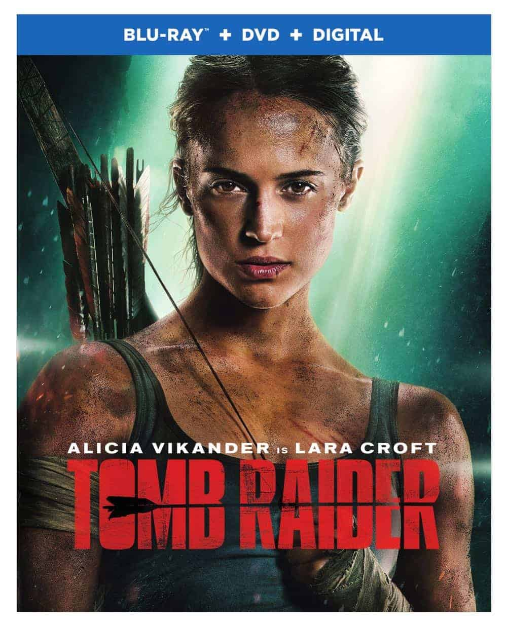 Tomb Raider Blu-ray + DVD + Digital Cover