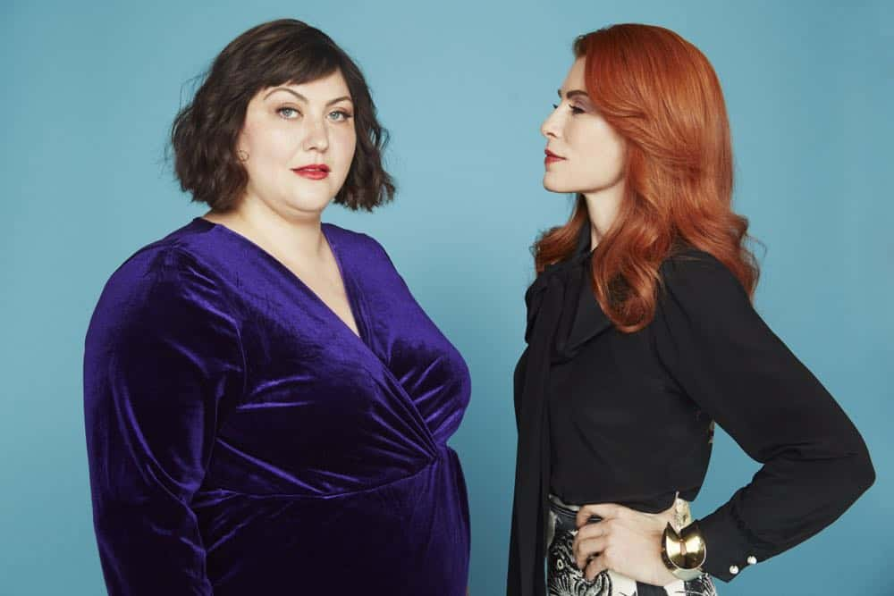 Joy Nash as Plum Kettle, Julianna Margulies as Kitty - Dietland _ Season 1, Gallery - Photo Credit: Erik Madigan Heck/AMC