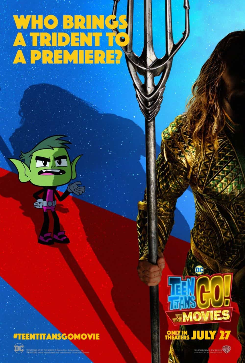Teen Titans GO To The Movies Poster 4