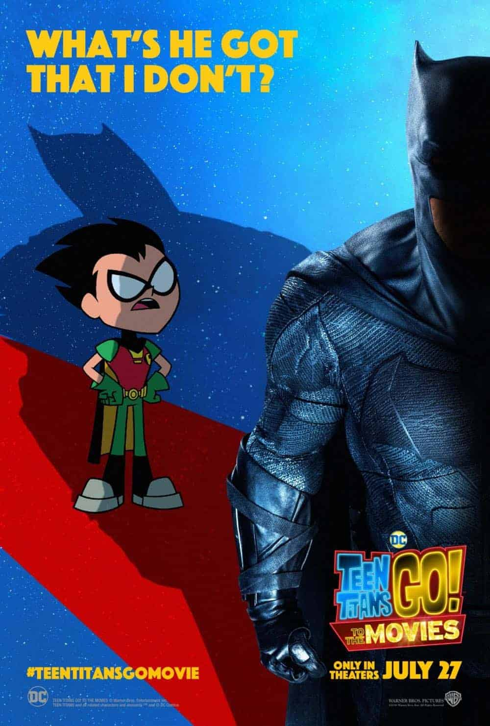 Teen Titans GO To The Movies Poster 1