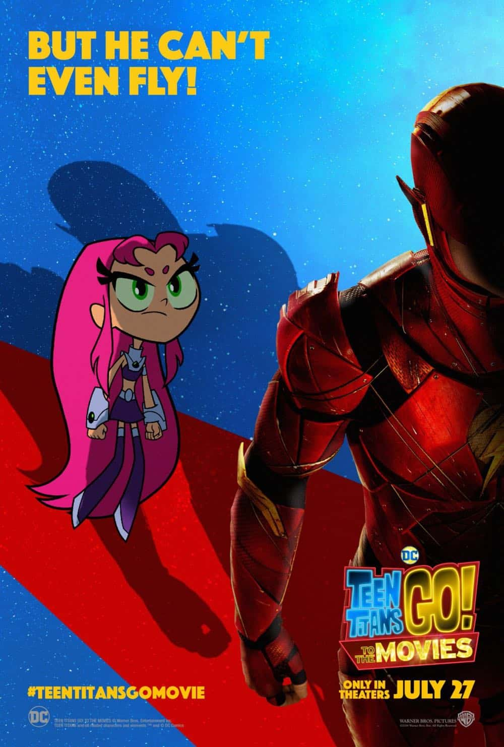 Teen Titans GO To The Movies Poster 2