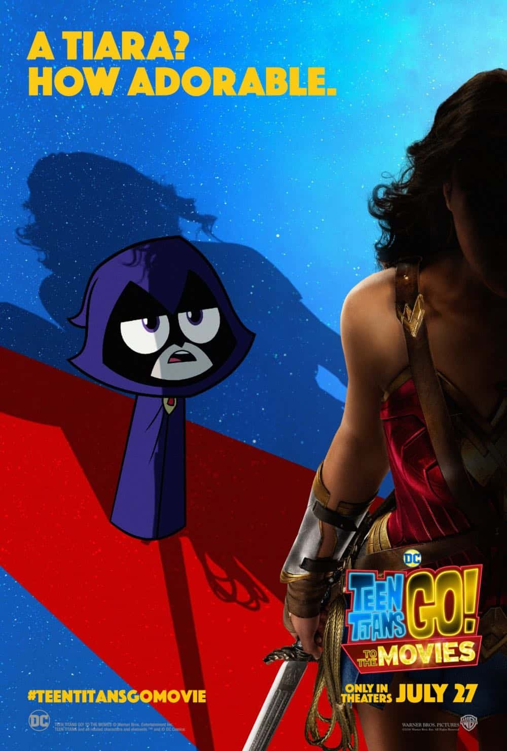 Teen Titans GO To The Movies Poster 3