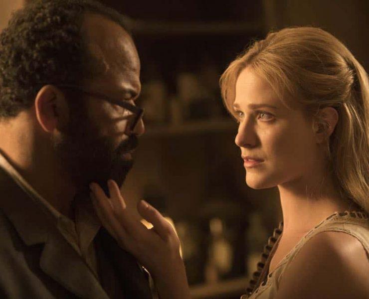 Episode 13 (season 2, episode 3), debut 5/6/18: Jeffrey Wright, Evan Rachel Wood. photo: John P. Johnson/HBO