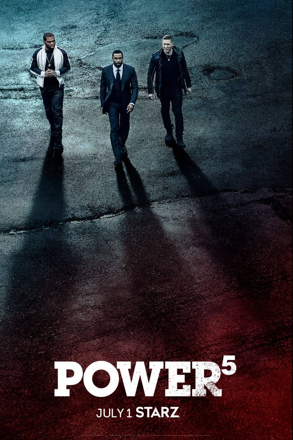 Power Season 5 Poster Key Art