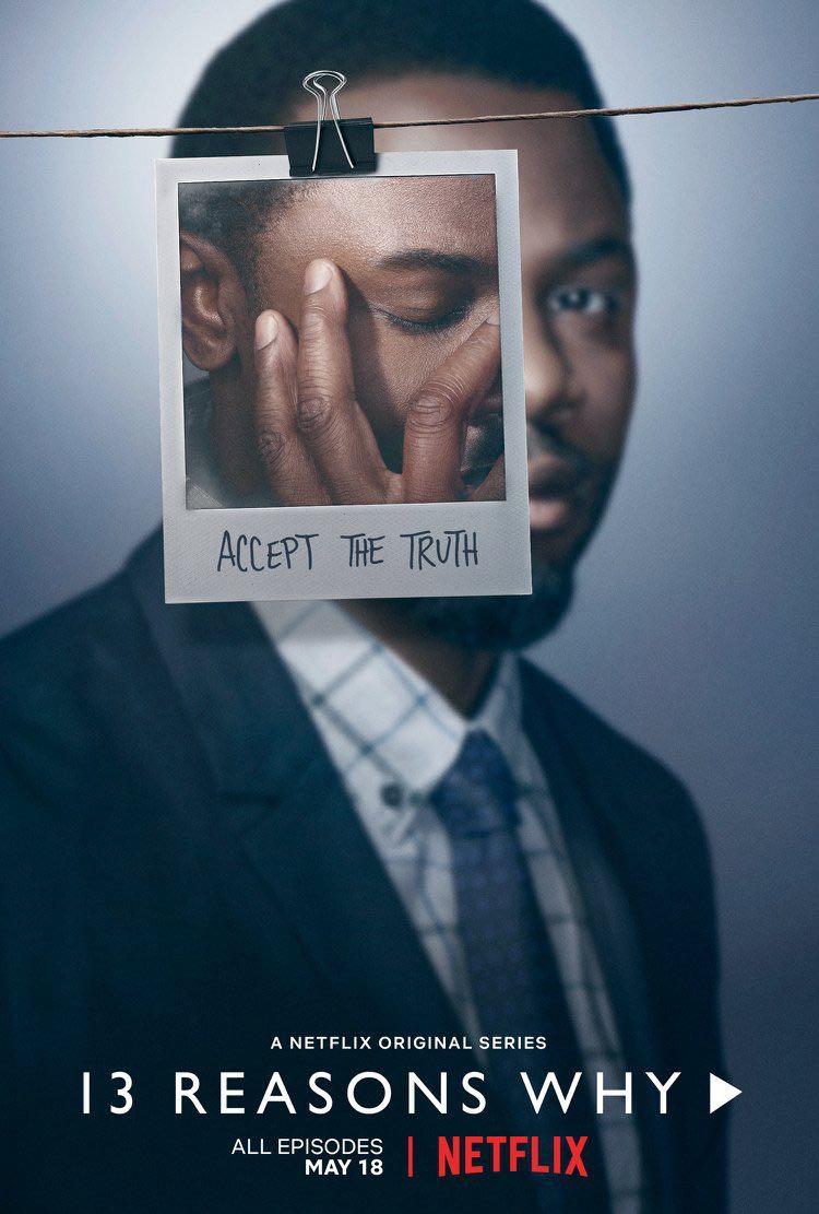 13 Reasons Why Season 2 Poster Derek Luke