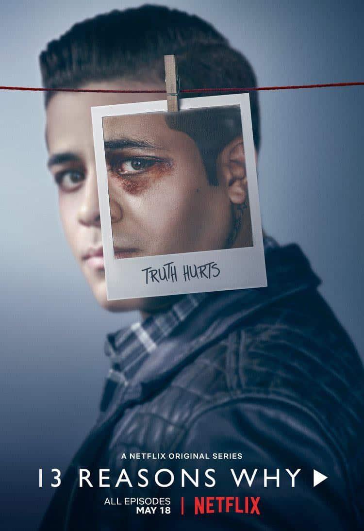 13 Reasons Why Season 2 Poster Christian Navarro