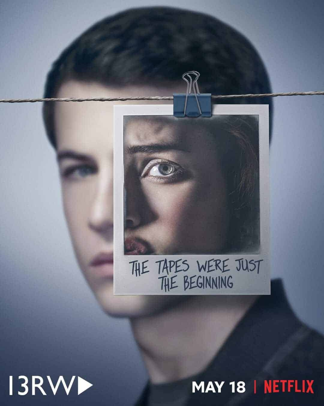 13 Reasons Why Season 2 Poster Dylan Minnette