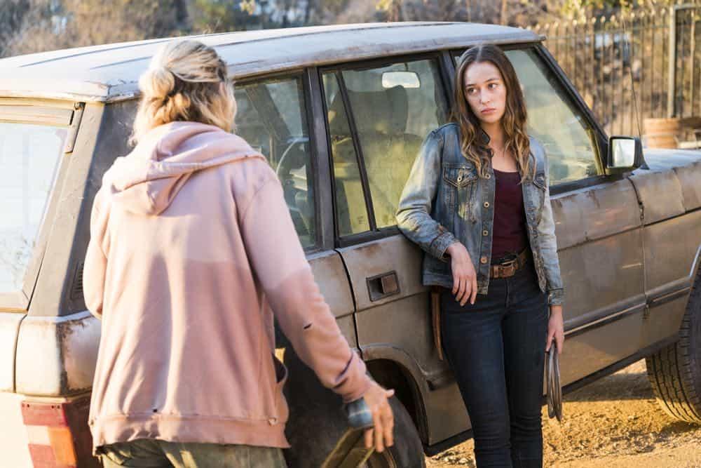 Fear The Walking Dead Episode 4 Season 4 Buried 01