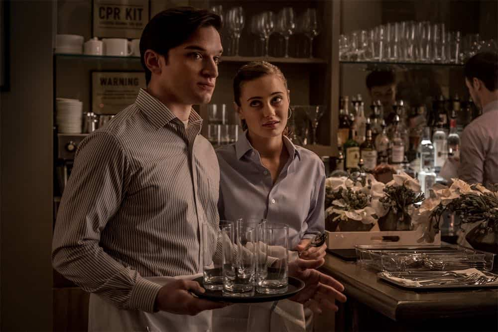 Evan Jonigkeit (Will), Ella Purnell (Tess) - Sweetbitter Season One