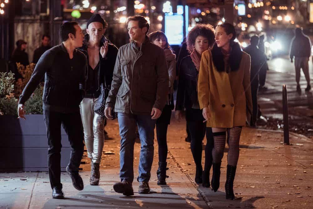 Jimmie Saito (Scott), Daniyar (Sasha), Evan Jonigkeit (Will), Ella Purnell (Tess), Jasmine Mathews (Heather), Eden Epstein (Ari) - Sweetbitter Season One