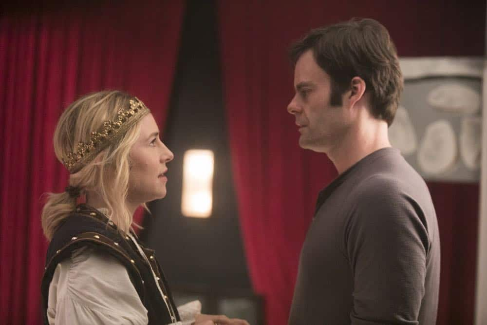 Episode 7 (debut 5/6/18): Sarah Goldberg, Bill Hader. photo: Jordin Althaus/HBO
