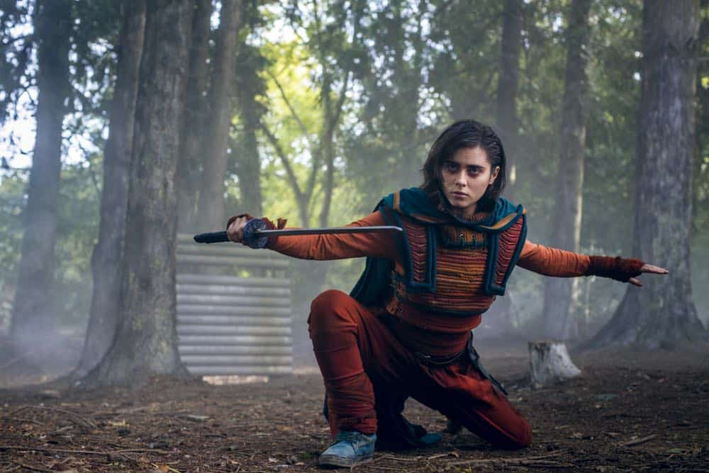 Into The Badlands Episode 3 Season 3 Leopard Snares Rabbit 16