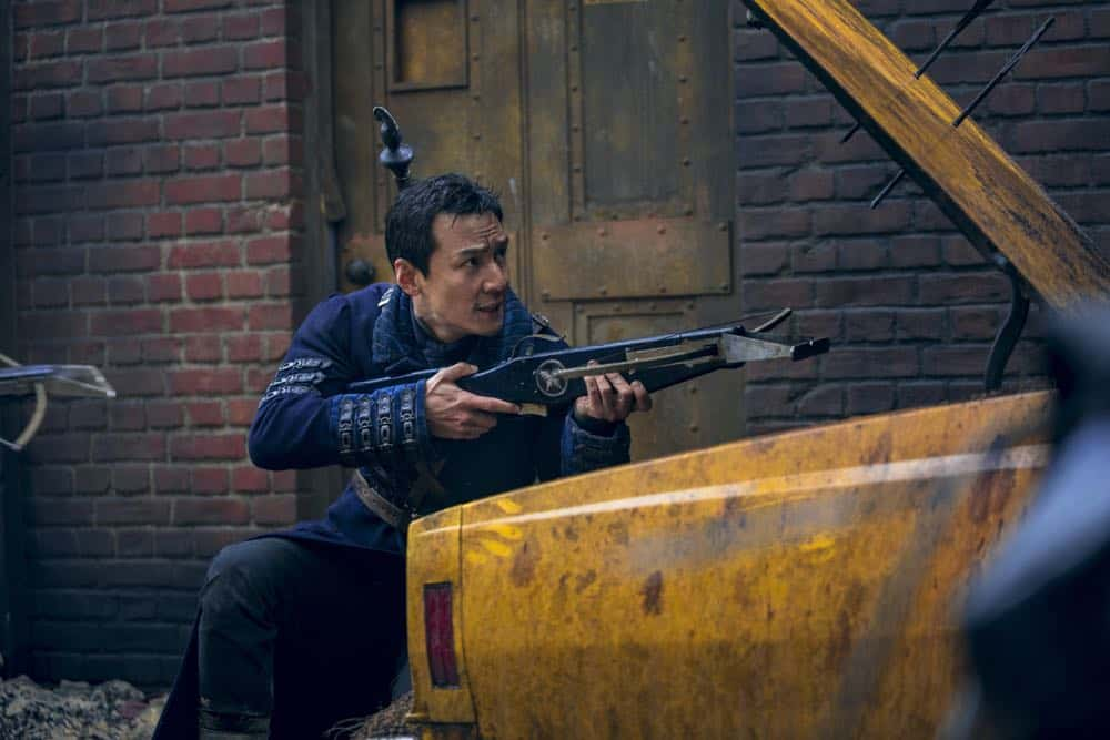 Into The Badlands Episode 3 Season 3 Leopard Snares Rabbit 07