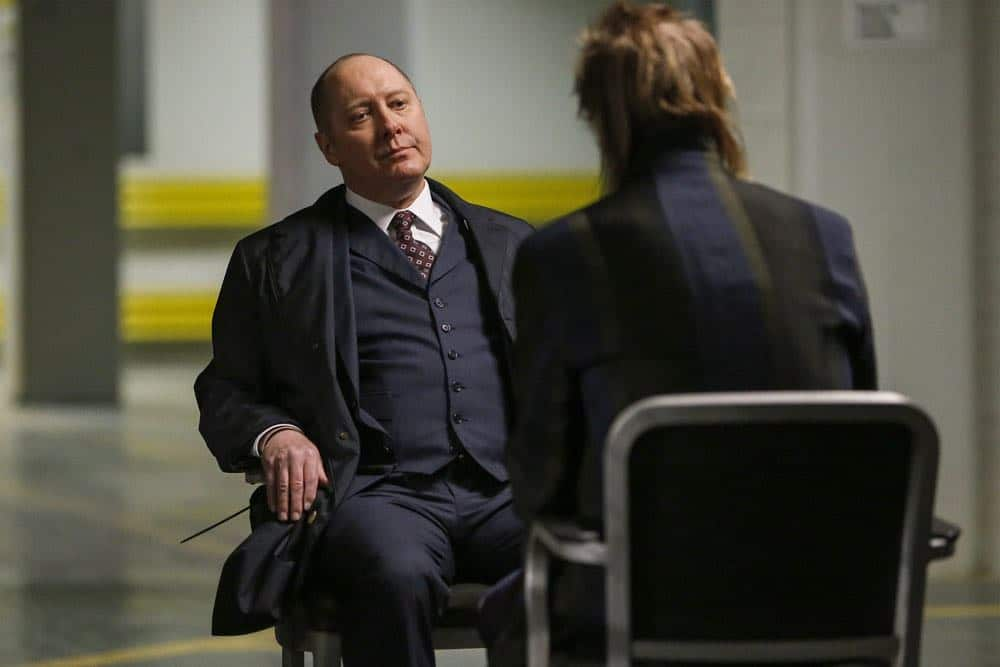"THE BLACKLIST -- ""Sutton Ross (#17)"" Episode 522 -- Pictured: James Spader as Raymond ""Red"" Reddington -- (Photo by: Will Hart/NBC)"