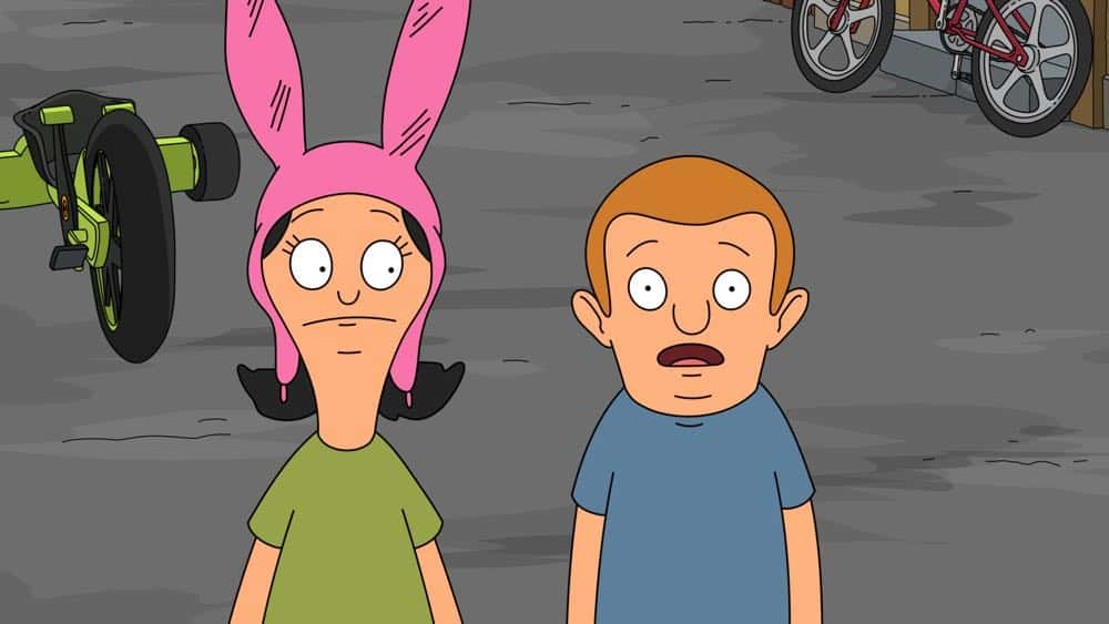 Bobs Burgers Episode 18 Season 8 As I Walk Through The Alley Of The Shadow Of Ramps 4