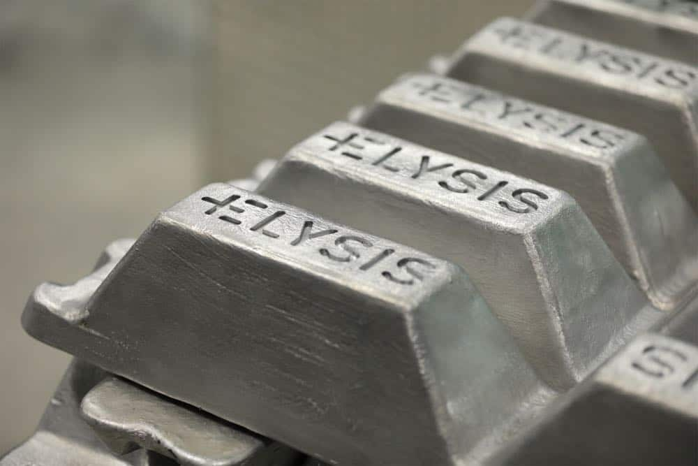 Aluminum Manufacturing Carbon Free Smelting 05102018