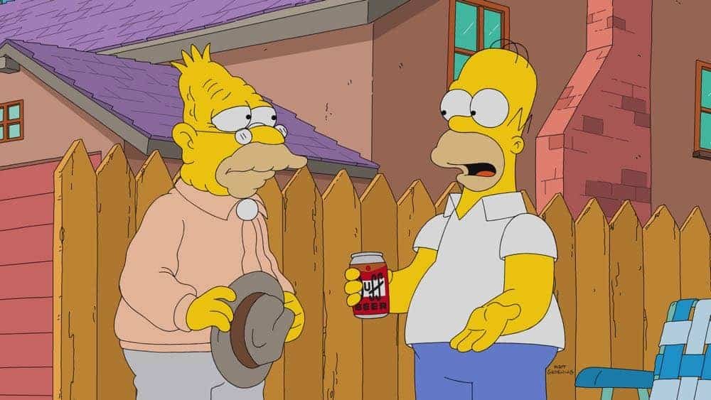 THE SIMPSONS Season 29 Episode 20 Photos Throw Grampa From The Dane
