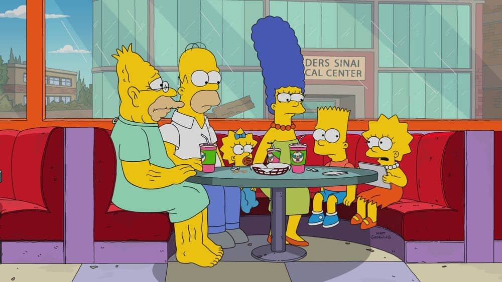 The Simpsons Episode 20 Season 29 Throw Grampa From The Dane 2