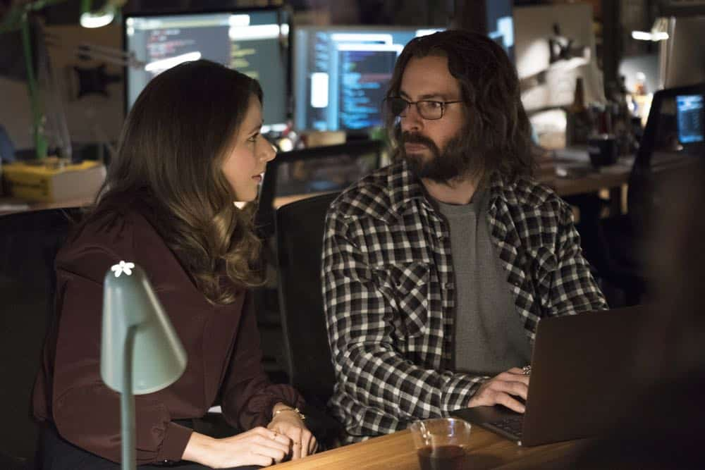 Episode 46 (season 5, episode 8), debut 5/13/18: Amanda Crew, Martin Starr. photo: Ali Paige Goldstein/HBO