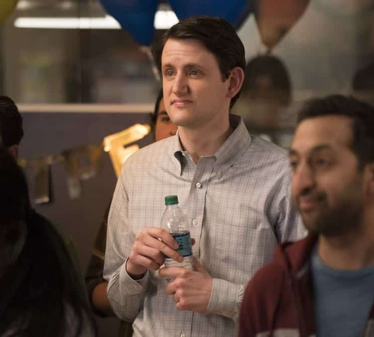 Episode 46 (season 5, episode 8), debut 5/13/18: Zach Woods. photo: Ali Paige Goldstein/HBO