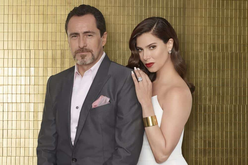 "GRAND HOTEL - ABC's ""Grand Hotel"" stars Demian Bichir as Santiago Mendoza, and Roselyn Sanchez as Gigi Mendoza. (ABC/Ed Herrera)"