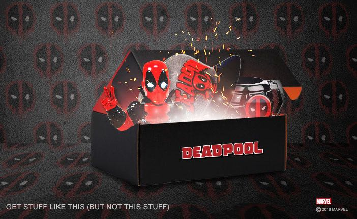 Deadpool Loot Crate 2