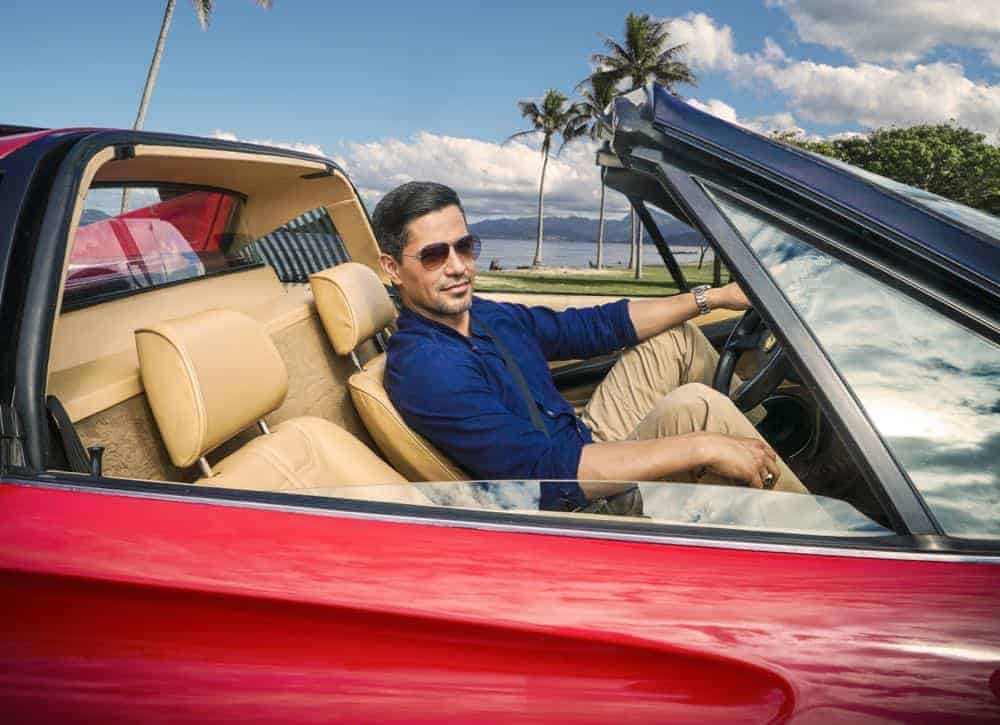 MAGNUM P.I. Jay Hernandez (pictured) as Thomas Magnum Photo: Karen Neal/CBS ©2018 CBS Broadcasting, Inc. All Rights Reserved.