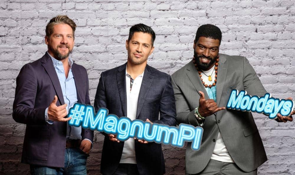 Magnum PI 2018 Cast CBS 4