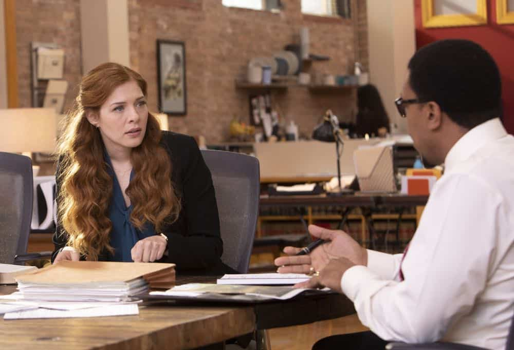 PROVEN INNOCENT:  L-R:  Rachelle Lefevre and Russell Hornsby in PROVEN INNOCENT premiering midseason on FOX.  ©2018 Fox Broadcasting Co.  Cr: Adrian Burrows/FOX