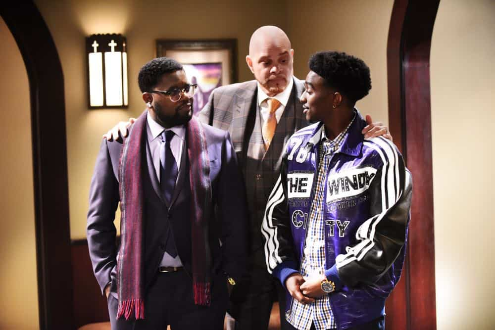 REL: L-R: Lil Rel Howery, Sinbad and Jordan L. Jones in REL premiering Sundays 9:30-10:00 PM ET/PT this fall on FOX. ©2018 Fox Broadcasting Co. Cr: Ray Mickshaw/FOX