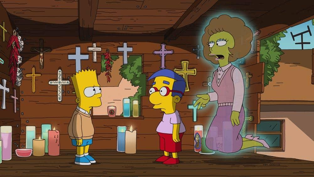 The Simpsons Episode 21 Season 29 Flanders Ladder 2