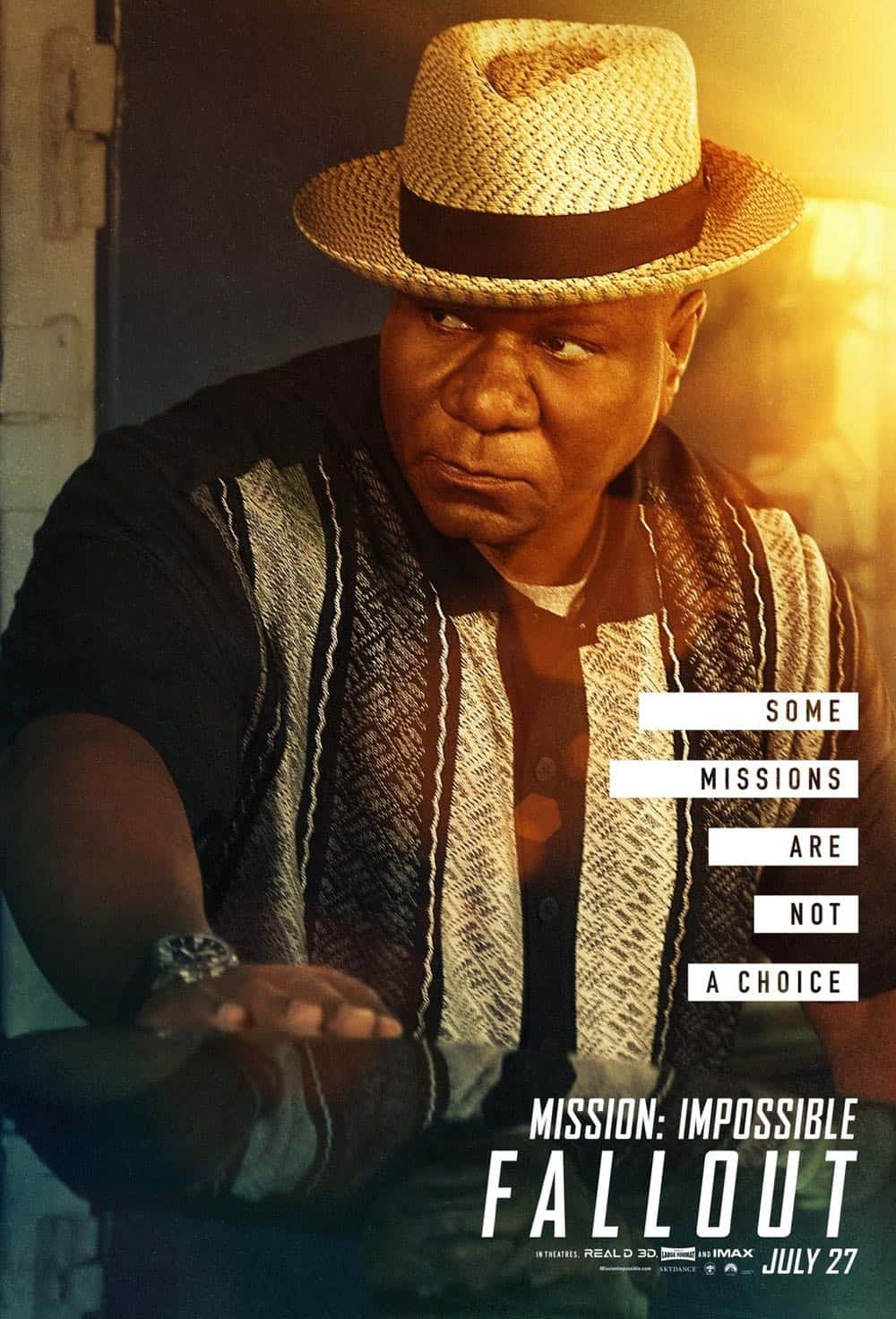 Mission Impossible Fallout Character Movie Poster Ving Rhames